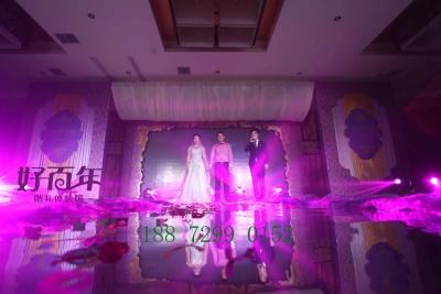 随州好百年婚庆欧式紫色婚礼会场策划布置